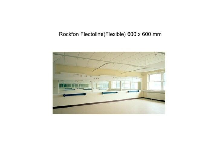 Rockfon Flectoline(Flexible) 600 x 600 mm