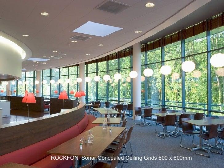 Name ROCKFON  Sonar Concealed Ceiling Grids 600 x 600mm