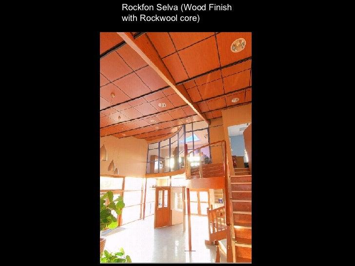 Rockfon Selva (Wood Finish  with Rockwool core)