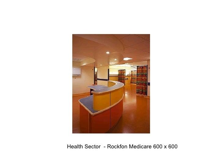 Health Sector  - Rockfon Medicare 600 x 600