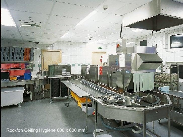 Rockfon Hygiene 600 x 600 Rockfon Ceiling Hygiene 600 x 600 mm