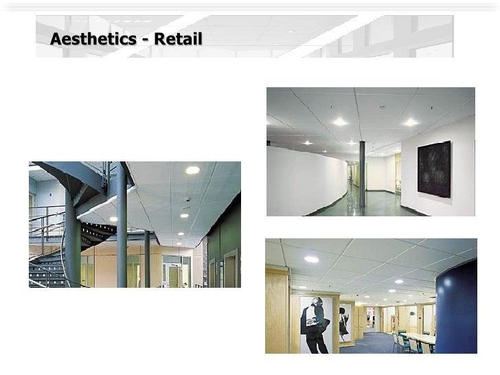 Aesthetics - Retail