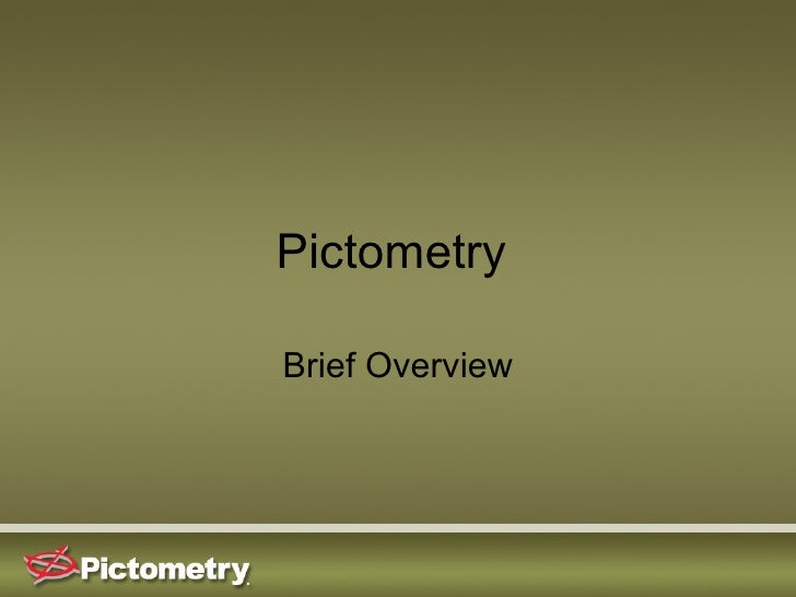 Pictometry  Brief Overview
