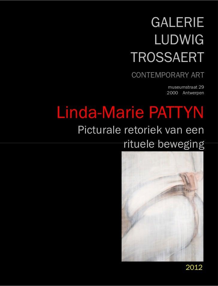 GALERIE               LUDWIG            TROSSAERT             CONTEMPORARY ART                    museumstraat 29         ...