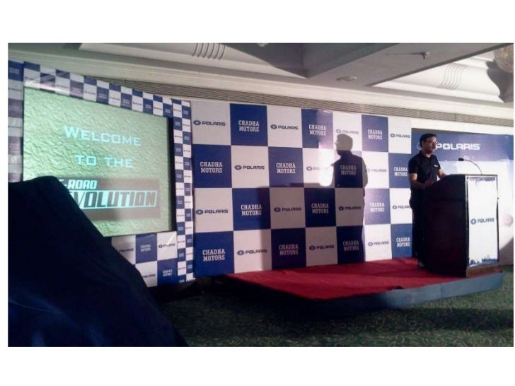 Ludhiana Polaris Dealership launch.