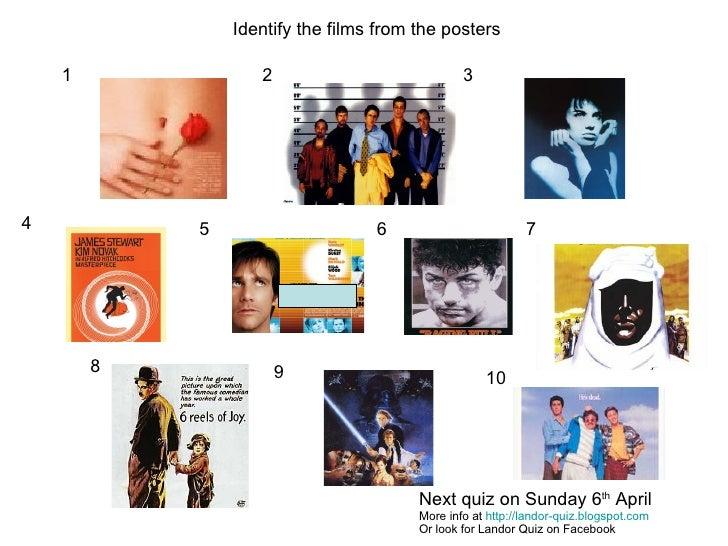 picture quiz film posters