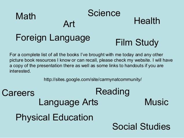 Picture books presentation