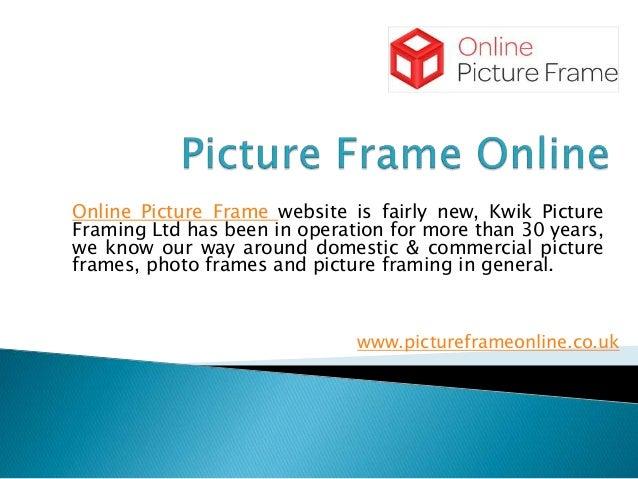 Digital Picture Framing Service in UK