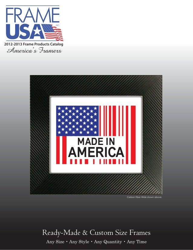 Picture Frames Catalog Frame Usa