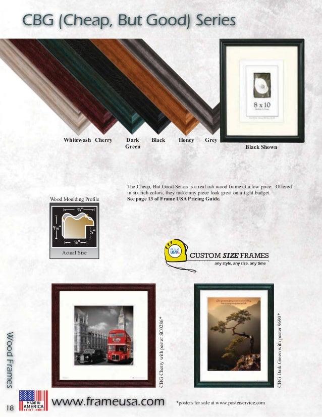 Picture Frames Catalog - Frame USA