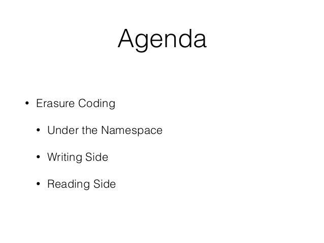 図でわかるHDFS Erasure Coding Slide 3