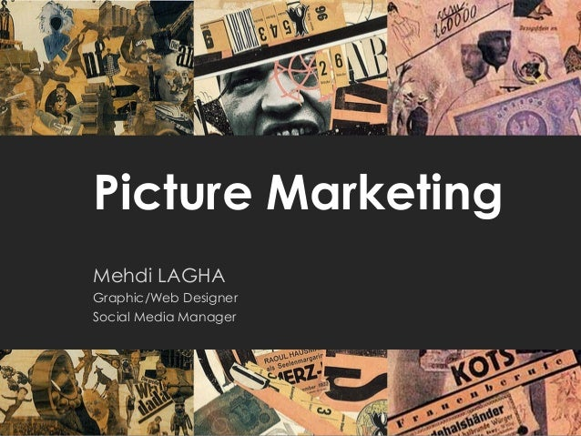 Picture Marketing Mehdi LAGHA Graphic/Web Designer Social Media Manager