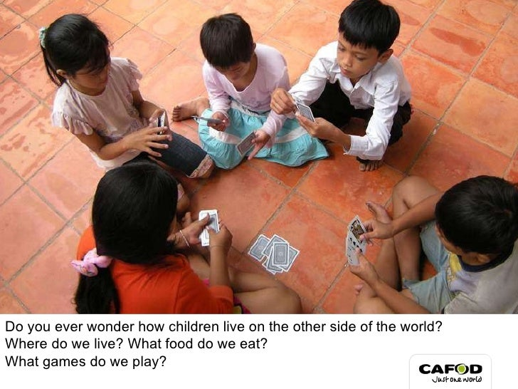 Do you ever wonder how children live on the other side of the world? Where do we live? What food do we eat?  What games do...