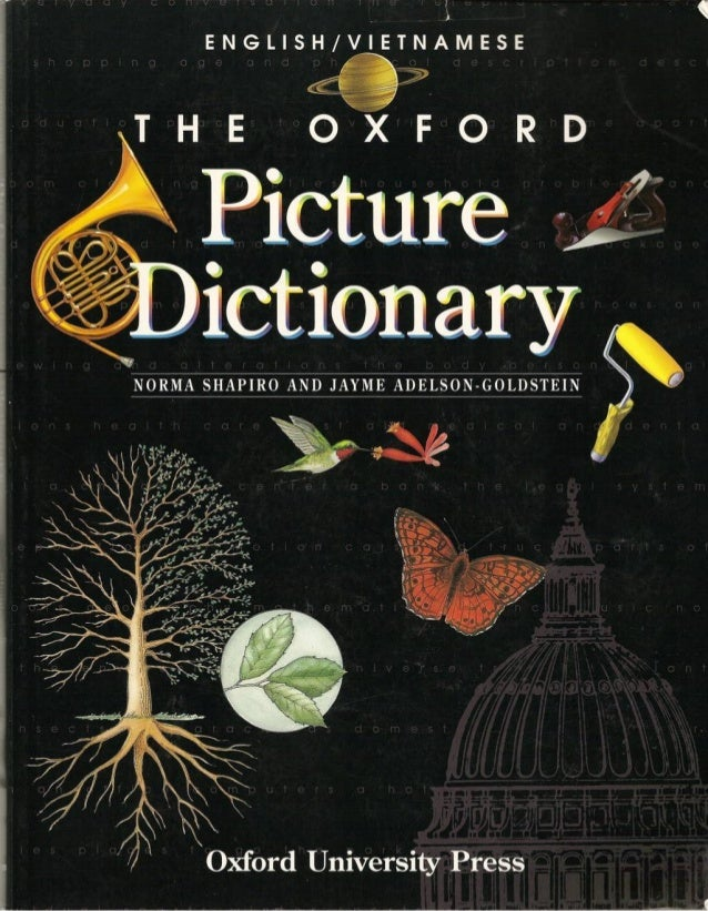 Picture oxford dictionary english vietnam for One dictionary