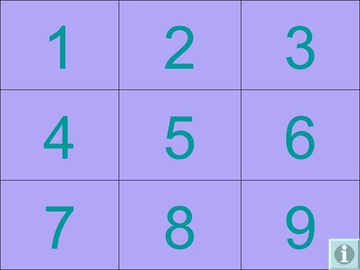 9 8 7 6 5 4 3 2 1