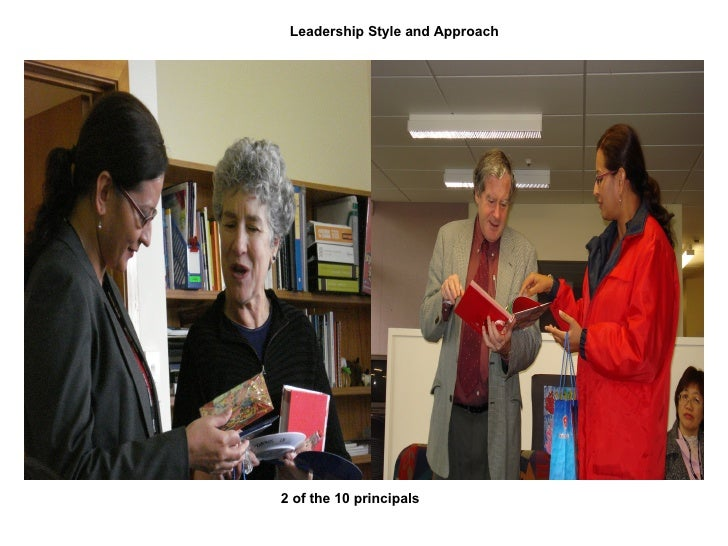 Leadership Style and Approach 2 of the 10 principals
