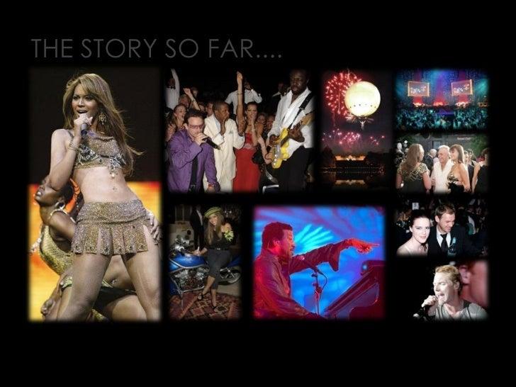THE STORY SO FAR....