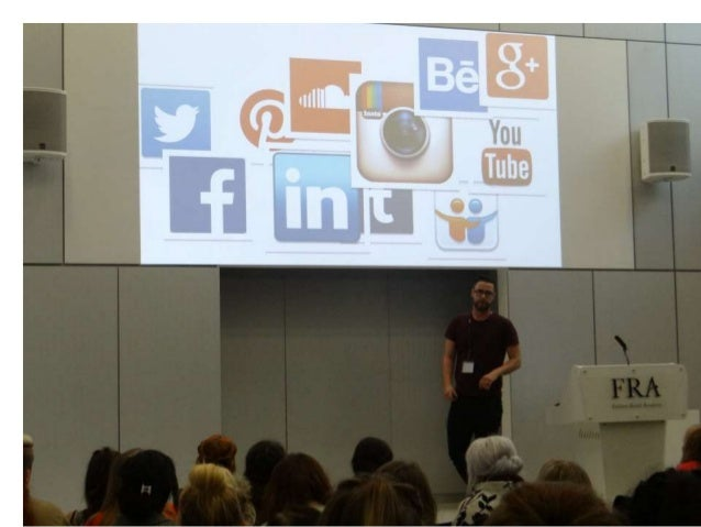 Pictures from fra masterclass   managing your personal brand with linkedin Slide 3