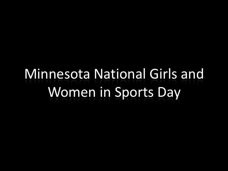 Minnesota National Girls and Women in Sports Day<br />