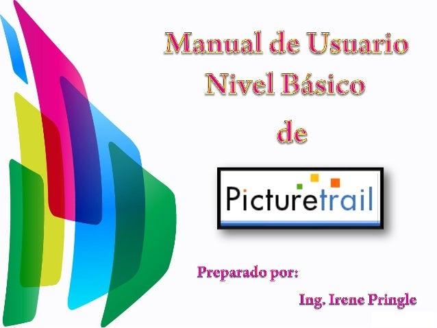 Ingresa a www.picturetrial.com y mostrará la siguiente pantalla. Donde seleccionarás la opción de suscripción gratuita.