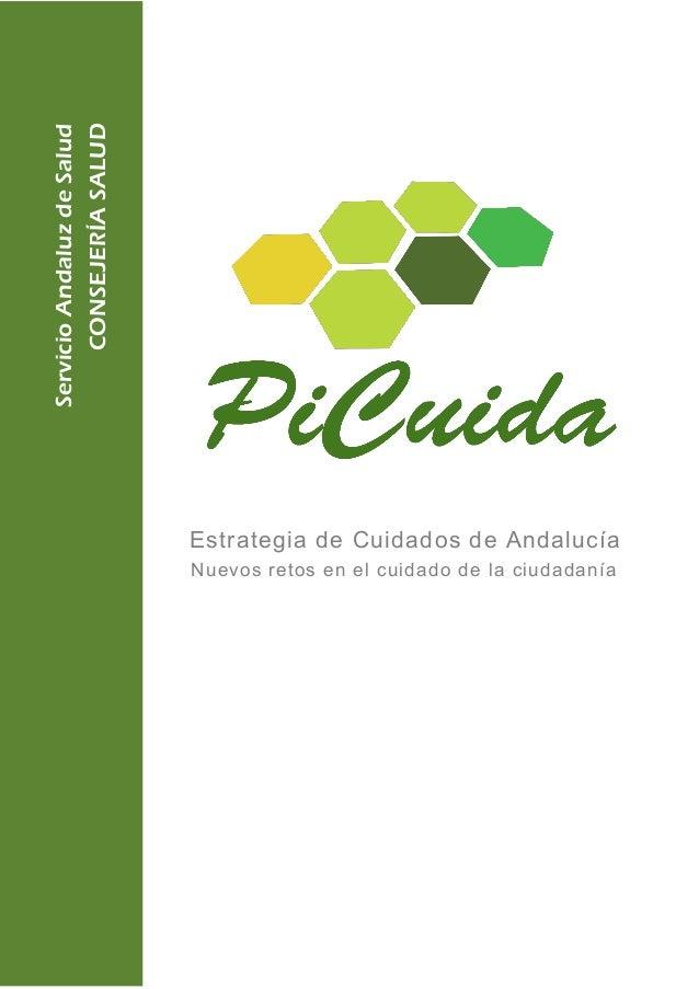 ServicioAndaluzdeSalud CONSEJERÍASALUD Nuevos retos en el cuidado de la ciudadanía Estrategia de Cuidados de Andalucía