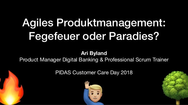 Agiles Produktmanagement: