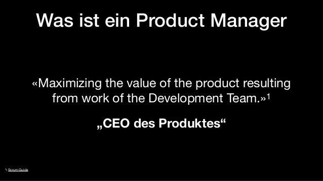 Agiles Produktmanagement:Fegefeuer oder Paradies? Slide 3