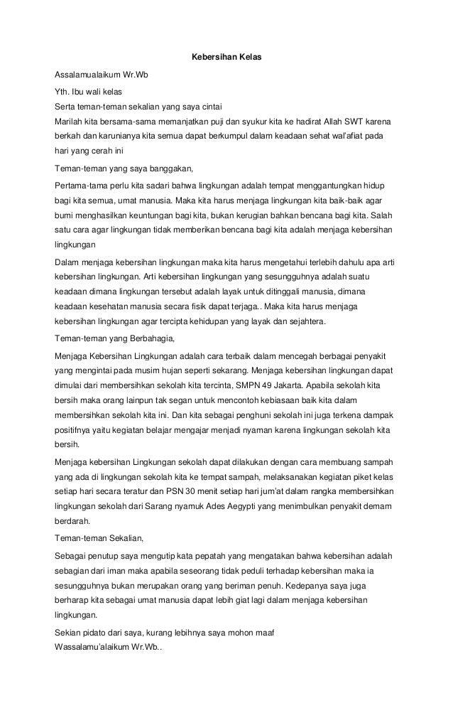 Contoh Ceramah Bahasa Indonesia Singkat Contoh Wuih