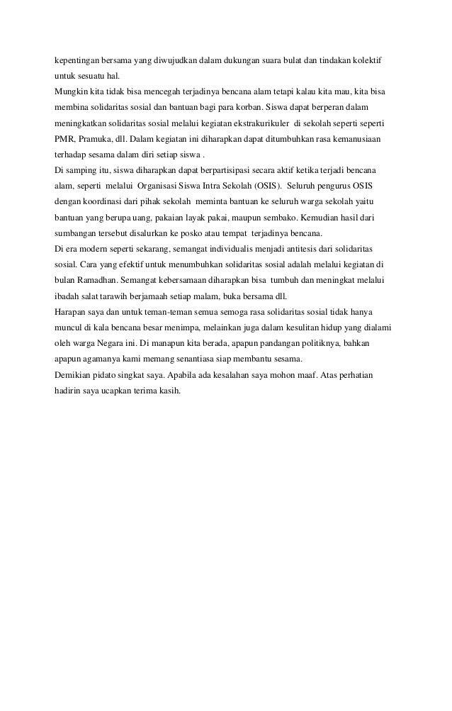 Contoh Naskah Pidato Bahasa Indonesia Tentang Maulid Nabi Muhammad