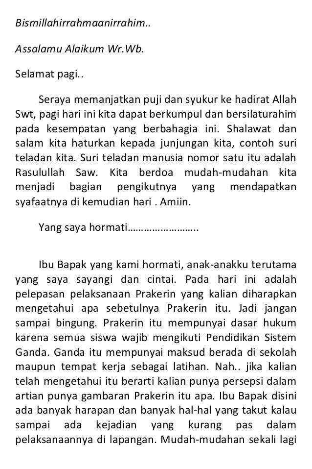 Bismillahirrahmaanirrahim.. Assalamu Alaikum Wr.Wb. Selamat pagi.. Seraya memanjatkan puji dan syukur ke hadirat Allah Swt...