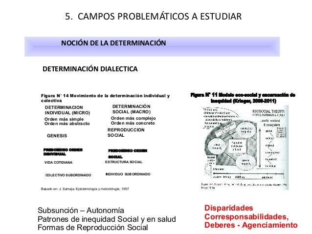5. CAMPOS PROBLEMÁTICOS A ESTUDIAR NOCIÓN DE LA DETERMINACIÓN DETERMINACIÓN DIALECTICA Figura N° 14 Movimiento de la deter...