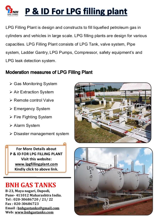 p amp id for lpg filling plant