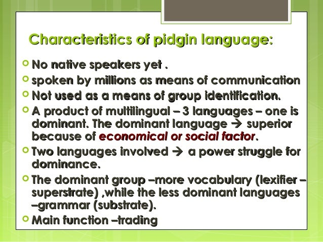 26 easy Nigerian Pidgin English phrases you need to learn