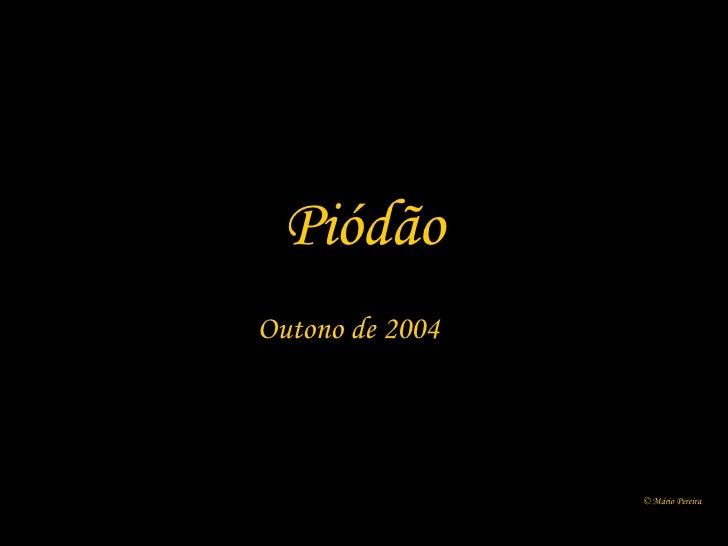 Piódão Outono de 2004 © Mário Pereira