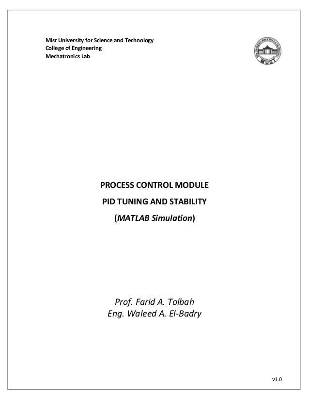 PID Tuning using Ziegler Nicholas - MATLAB Approach