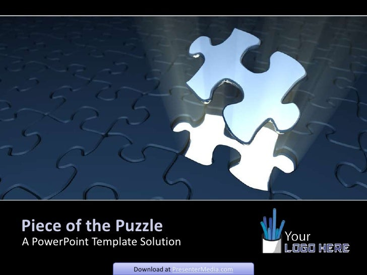 piece of the puzzle powerpoint template