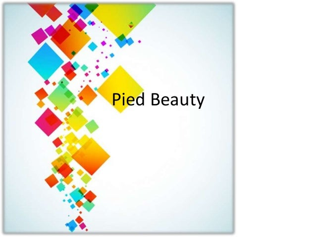 Pied Beauty