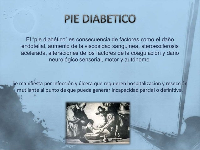 Pie diabetico Slide 2