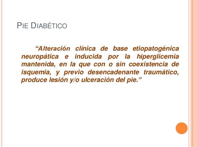 Pie diabetico cirugia