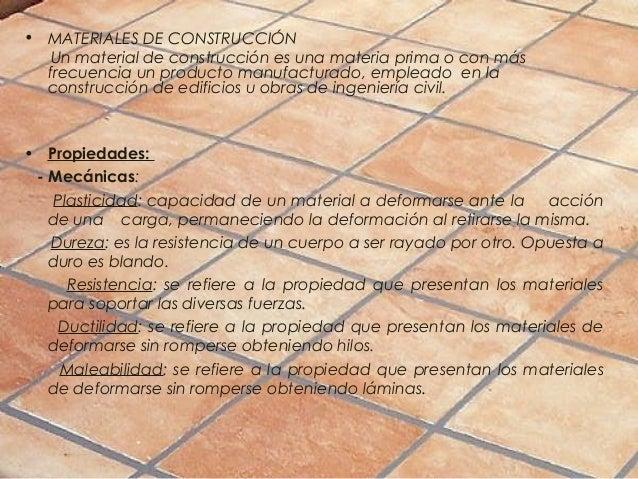 Trabajo sobre materiales de construccion - Materiales de construccion tarragona ...