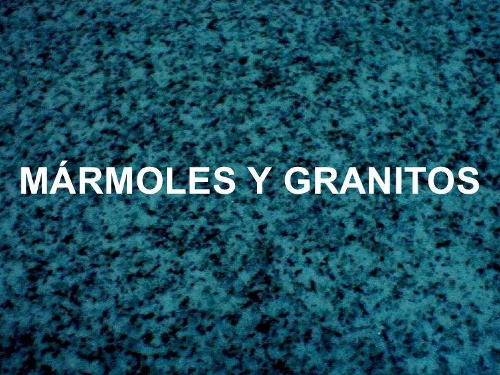 Piedras naturales 2010 for Marmoles y granitos naturales