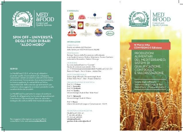 INFORMAZIONI CREDITI ECM Evento acreditato dal Ministero della Salute per 8 ECM (ID Evento 89388) PROFESSIONI Biologo, Tec...