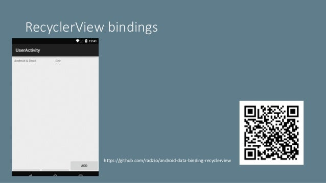Deep dive into Android Data Binding