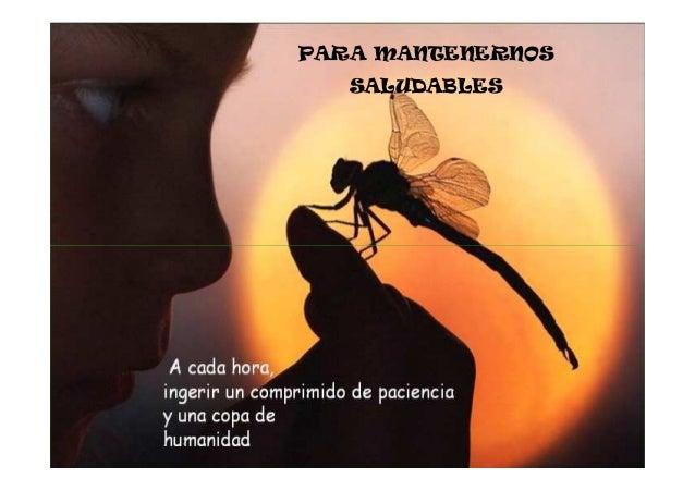 PARA MANTENERNOS   SALUDABLES
