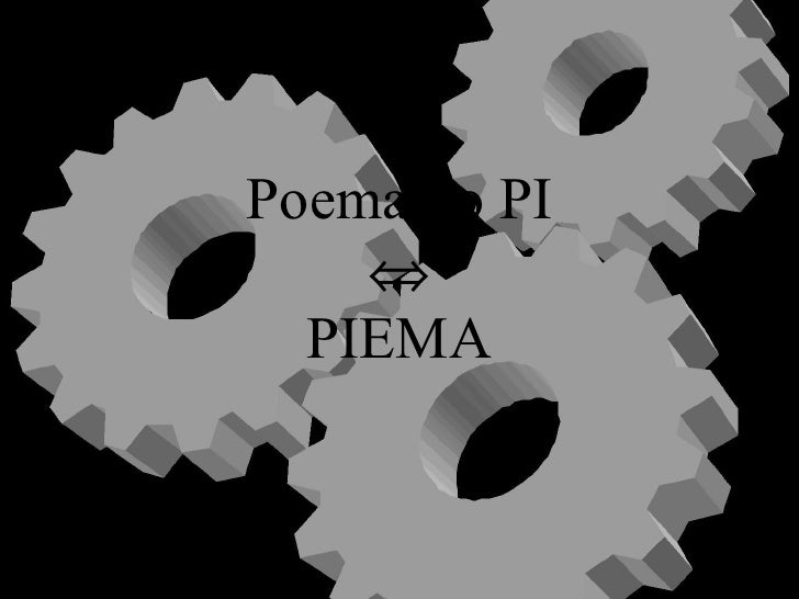 Poema do PI  PIEMA