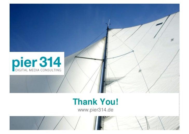 Thank You!  www.pier314.de