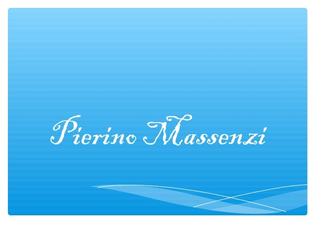 Pierino Massenzi