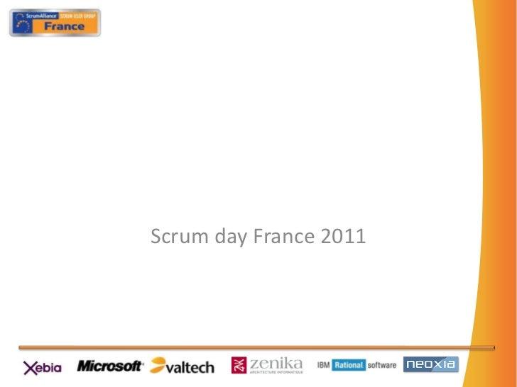 Scrumday France 2011<br />