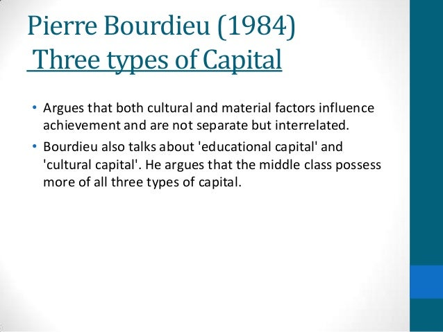 Pierre Bourdieu 1984