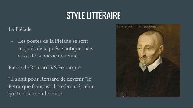 Auteurs Humanistes Pierre De Ronsard